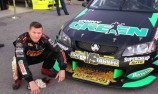 Danny Green spins off track during hot lap