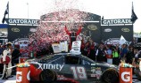 Edwards bumps to victory at Richmond