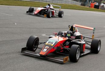 Joey Mawson take the win in Race 3