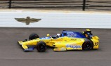 Andretti in Indy 500 opening practice team blitz