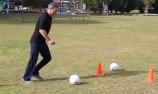 VIDEO: Craig Lowndes' soccer challenge