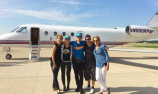 Matt Mingay arrives home as recovery continues