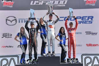 Anthony Martins leads an all-Aussie podium at Road America