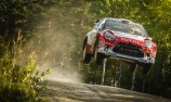 Kris Meeke out front in Rally Finland