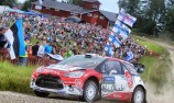 Meeke closes in on Rally Finland win