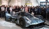 Ricciardo helps unveil F1 Aston Martin road car