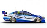 Penske Fords turn blue for Ipswich