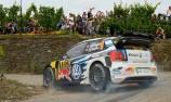 Mikkelsen heads tight WRC in Germany