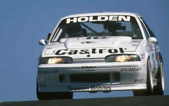 The VL Commodore which the HRT raced to Bathurst 1000 victory in the squad's foundation year in 1990
