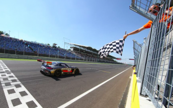 HTP Mercedes takes the flag in Hungary
