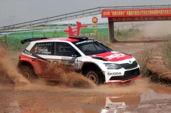 Gaurav Gill took the full championship points despite finishing second overall