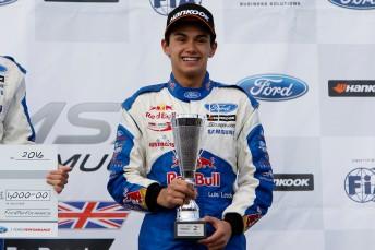 Luis Leeds secured a podium at Rokingham