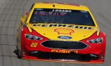Logano grabs Michigan pole