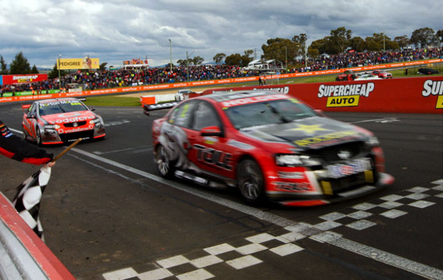 Tander defeated Lowndes in 2011
