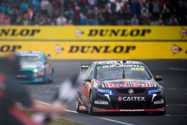 Lowndes leads Winterbottom to the flag