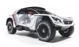 Peugeot uncovers new Dakar challenger