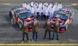 Red Bull Retro Team Shot