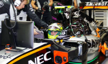 Sergio Perez receives eight-place grid drop