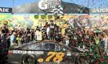 Truex Jr. wins NASCAR Chase opener