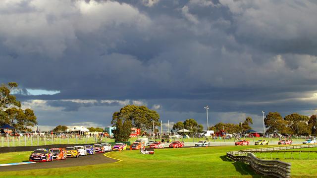 Rain threatens to turn the 500 on its head