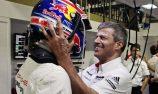 Porsche Team: Mark Webber, Fritz Enzinger, Leiter LMP1 (l-r)