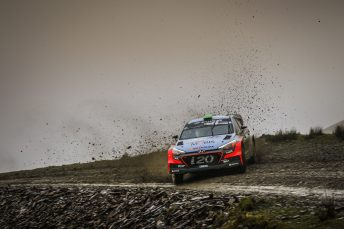Paddon is fighting for a podium result