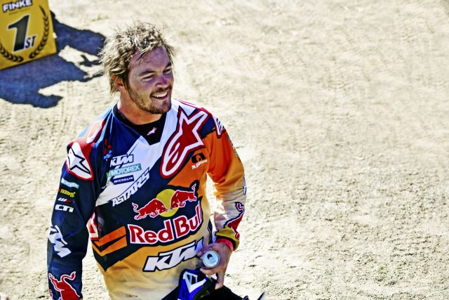 Toby Price is the feature of a documentary, Paying the Price, to be screened exclusively on Red Bull TV from December 6