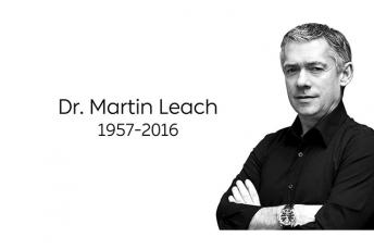 Dr Martin Leach has died aged 59