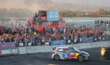 Ogier lights up new Rally Aus Super Special