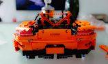 VIDEO: Building a Lego Porsche