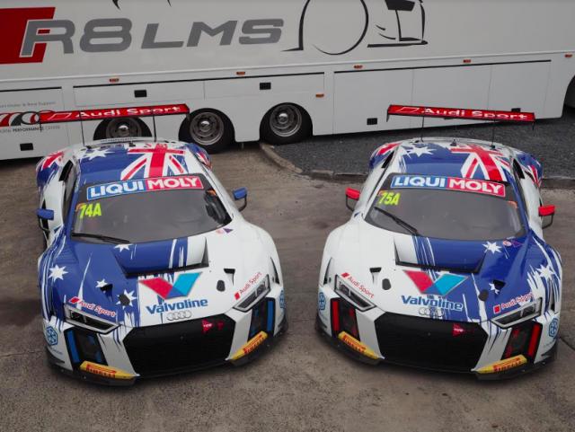 Jamec-Pem Audis reveal Bathurst war paint - Speedcafe