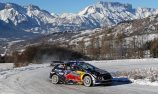 Sebastien Ogier in command as Neuville crashes at Monte