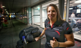 De Silvestro straight to work at Nissan