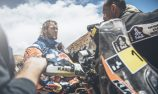 Price breaks leg in Dakar crash