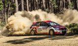 Harry Bates wins Heat 1 of Eureka Rally
