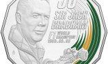 Sir Jack Brabham honoured by Australian Mint