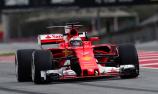 Raikkonen fastest as Ferrari edge Mercedes