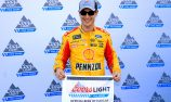 Logano clinches NASCAR pole at Phoenix