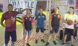 VIDEO: Triple Eight basketball challenge