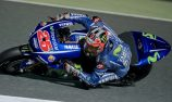 Vinales fastest, Marquez crashes in Qatar test