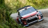 Kris Meeke out front in Corsica