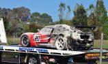 Driver hospitalised after Bathurst fire