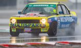 SUPPORTS: Hansford on top in TCM at soggy Winton