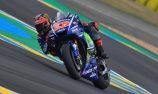 Viñales wins in France after final-lap Rossi crash