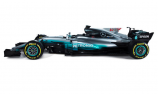 Mercedes reveals new F1 driver identification decals