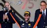 Ricciardo relieved with podium after late drama
