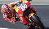 Pedrosa on pole as Marquez crashes repeatedly