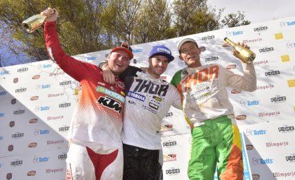 Daymon Stokie wins Finke Bikes