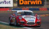 Wall fastest, Heimgartner crashes in Carrera Cup