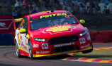 Coulthard heads Penske 1-2 in chaotic Darwin opener